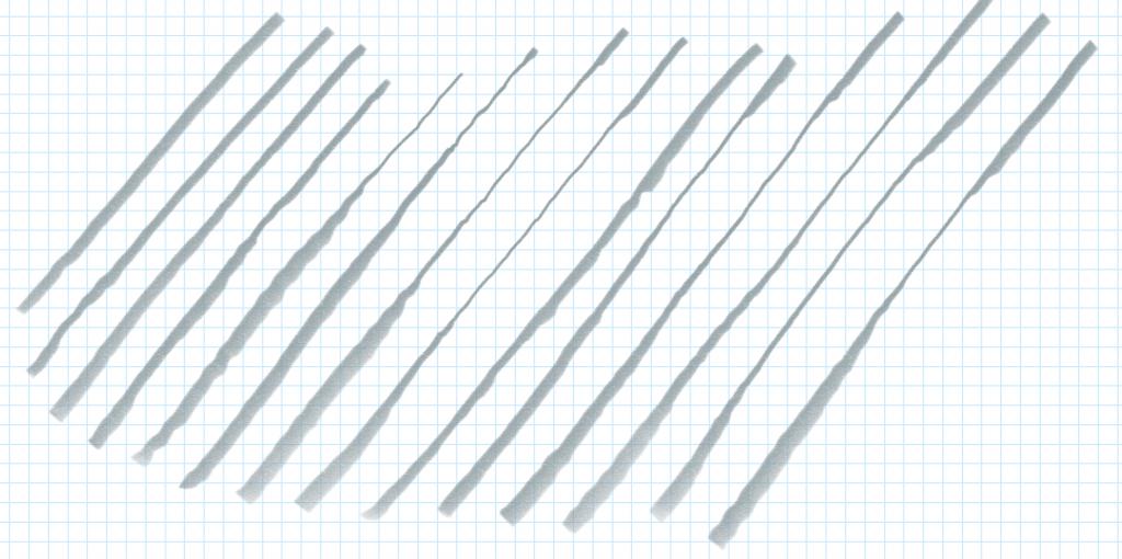 Pen Jitter beim Zeichnen von Diagonalen mit meinem Surface Book 2